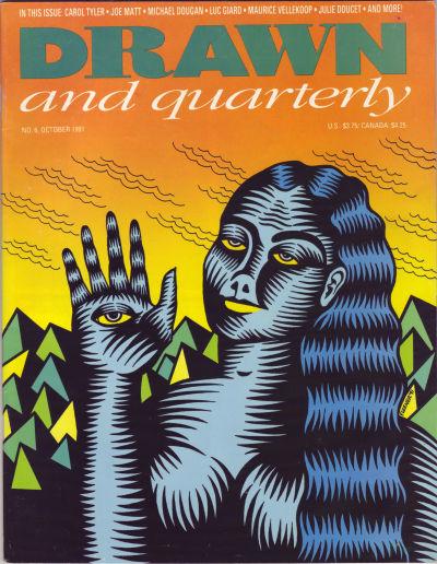 Cover for Drawn & Quarterly (Drawn & Quarterly, 1990 series) #6