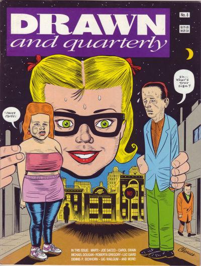 Cover for Drawn & Quarterly (Drawn & Quarterly, 1990 series) #8