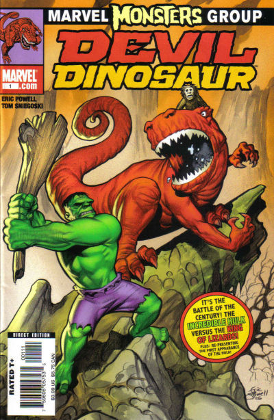 Cover for Marvel Monsters: Devil Dinosaur (Marvel, 2005 series) #1