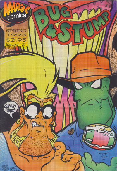 Cover for Bug & Stump (AAARGH!, 1993 series) #2