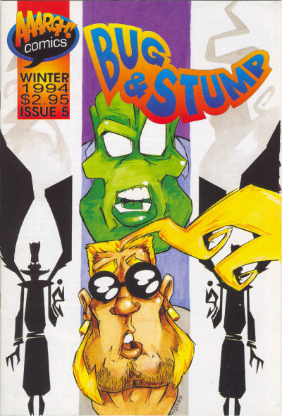 Cover for Bug & Stump (AAARGH!, 1993 series) #5