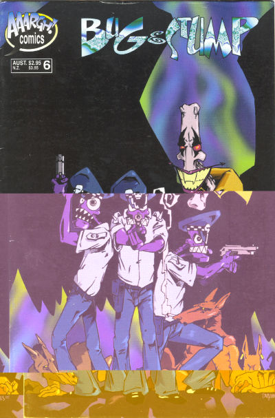 Cover for Bug & Stump (AAARGH!, 1993 series) #6
