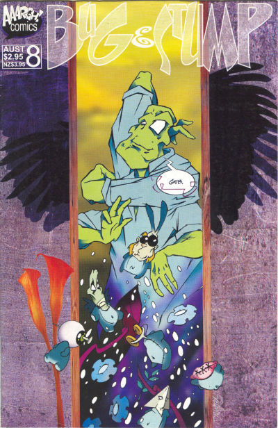 Cover for Bug & Stump (AAARGH!, 1993 series) #8