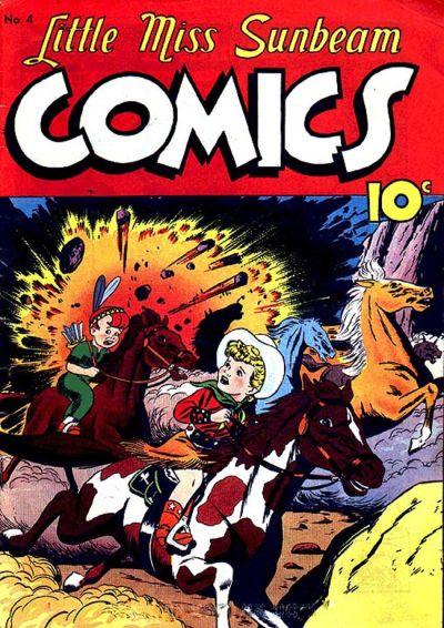 Cover for Little Miss Sunbeam Comics (Magazine Enterprises, 1950 series) #4