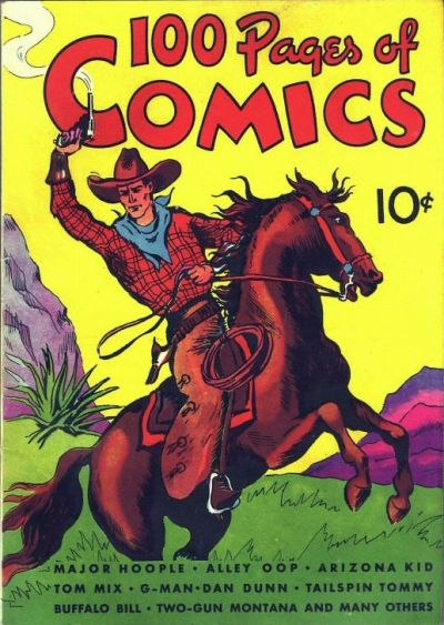 Cover for 100 Pages of Comics (Dell, 1937 series) #101