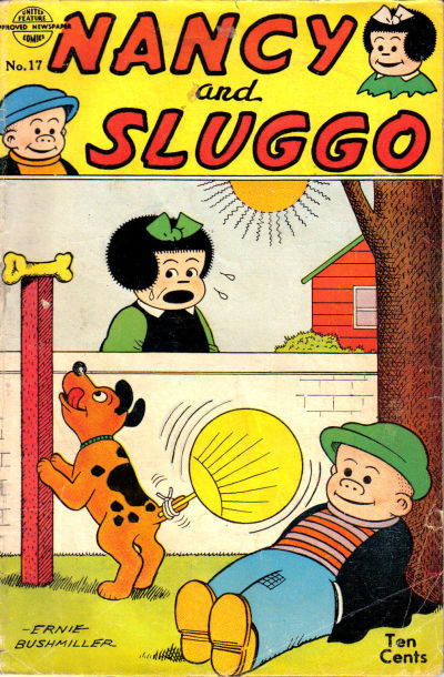 Cover for Nancy and Sluggo (United Features, 1949 series) #17