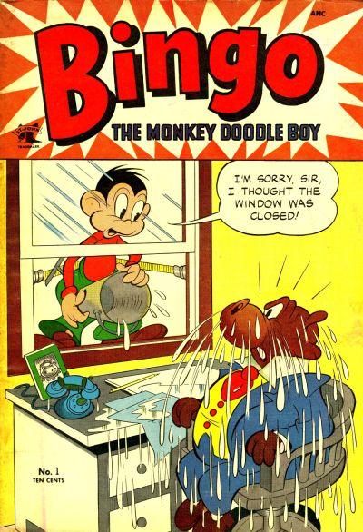 Cover for Bingo, the Monkey Doodle Boy (St. John, 1953 series) #1