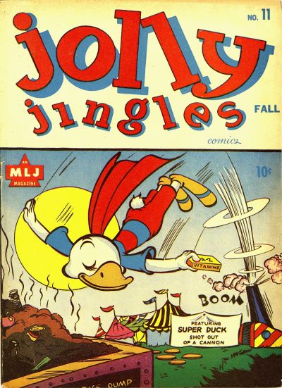 Cover for Jolly Jingles (Archie, 1943 series) #11