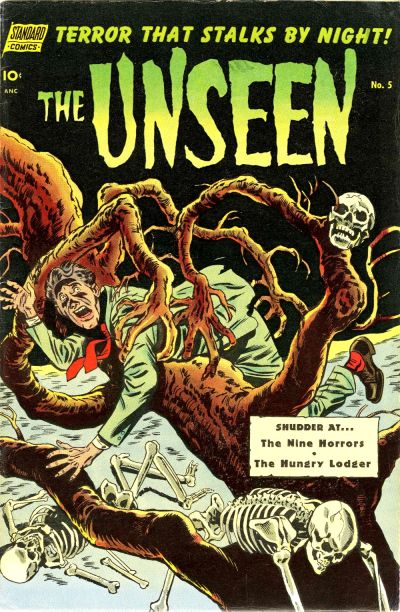 Cover for The Unseen (Pines, 1952 series) #5