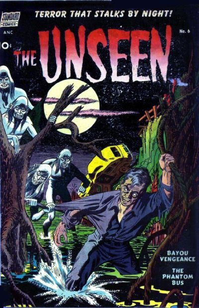 Cover for The Unseen (Pines, 1952 series) #6