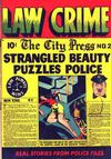 Cover for Law Against Crime (Essankay, 1948 series) #2