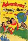 Cover for Adventures of Mighty Mouse (St. John, 1952 series) #7