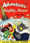 Cover for Adventures of Mighty Mouse (St. John, 1952 series) #12