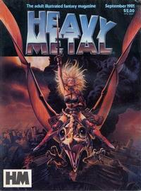 Cover Thumbnail for Heavy Metal Magazine (HM Communications, Inc., 1977 series) #v5#6 [Direct Sales]