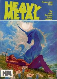 Cover for Heavy Metal Magazine (HM Communications, Inc., 1977 series) #v5#11