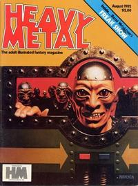 Cover for Heavy Metal Magazine (Heavy Metal, 1977 series) #v6#5