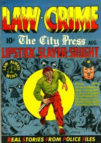 Cover Thumbnail for Law Against Crime (Essankay, 1948 series) #3