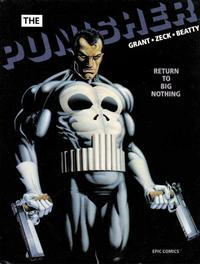 Cover Thumbnail for Epic Graphic Novel: The Punisher -- Return to Big Nothing (Marvel, 1989 series)