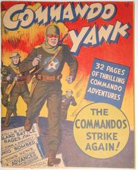 Cover Thumbnail for Commando Yank [Mighty Midget Comic] (Samuel E. Lowe & Co., 1943 series) #12