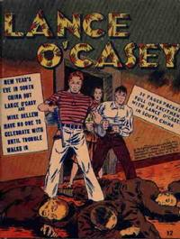 Cover Thumbnail for Lance O'Casey [Mighty Midget Comic] (Samuel E. Lowe & Co., 1943 series) #12