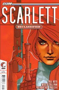 Cover Thumbnail for G.I. Joe: Scarlett: Declassified (Devil's Due Publishing, 2006 series)