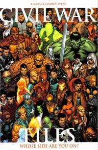 Cover Thumbnail for Civil War Files (Marvel, 2006 series)