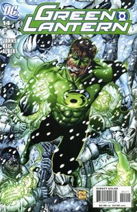 Cover for Green Lantern (DC, 2005 series) #14