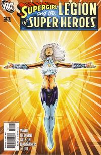 Cover for Supergirl and the Legion of Super-Heroes (DC, 2006 series) #21