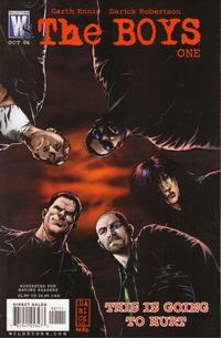 Cover Thumbnail for The Boys (DC, 2006 series) #1