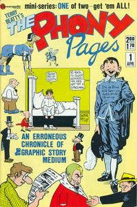 Cover Thumbnail for Terry  Beatty's The Phony Pages (Renegade Press, 1986 series) #1