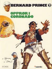 Cover Thumbnail for Bernard Prince (Semic, 1979 series) #2 - Opprør i Coronado