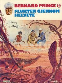 Cover Thumbnail for Bernard Prince (Semic, 1979 series) #3 - Flukten gjennom helvete