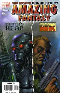 Cover Thumbnail for Amazing Fantasy (Marvel, 2004 series) #18