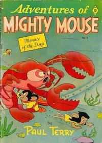 Cover for Adventures of Mighty Mouse (St. John, 1952 series) #2