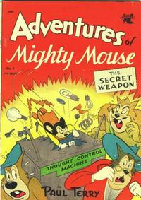 Cover Thumbnail for Adventures of Mighty Mouse (St. John, 1952 series) #4