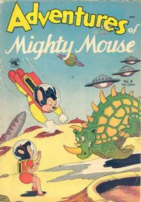 Cover Thumbnail for Adventures of Mighty Mouse (St. John, 1952 series) #8
