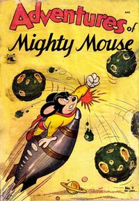 Cover Thumbnail for Adventures of Mighty Mouse (St. John, 1952 series) #9