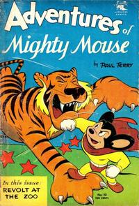 Cover Thumbnail for Adventures of Mighty Mouse (St. John, 1952 series) #10