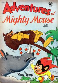 Cover Thumbnail for Adventures of Mighty Mouse (St. John, 1952 series) #11