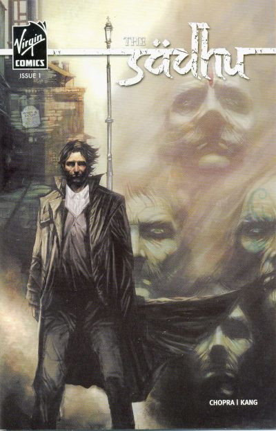 Cover for The Sadhu (Virgin, 2006 series) #1