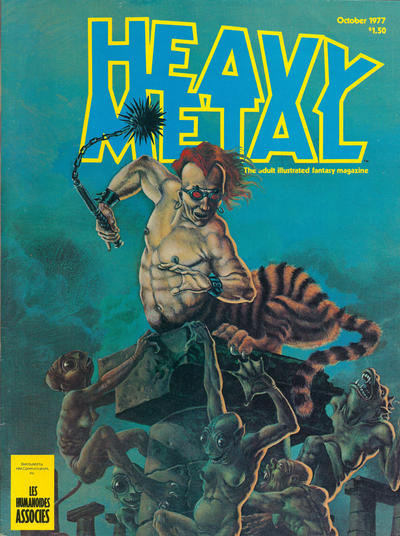 Cover for Heavy Metal Magazine (Heavy Metal, 1977 series) #v1#7