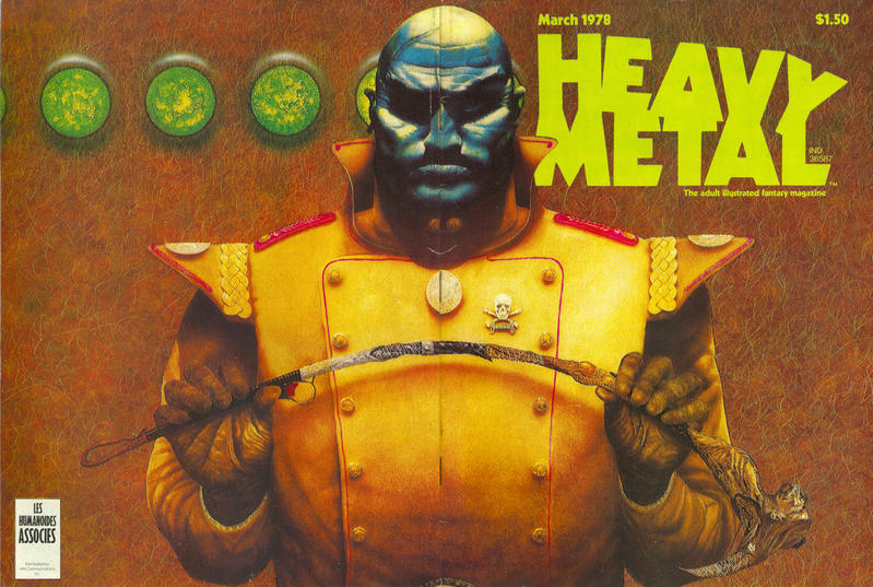 Cover for Heavy Metal Magazine (Heavy Metal, 1977 series) #v1#12