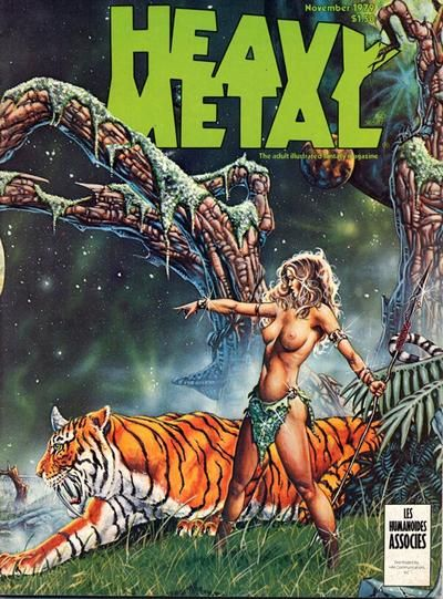 Cover for Heavy Metal Magazine (Heavy Metal, 1977 series) #v3#7 [Direct Sales]