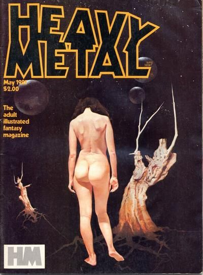 Cover for Heavy Metal Magazine (Heavy Metal, 1977 series) #v5#2 [Direct]