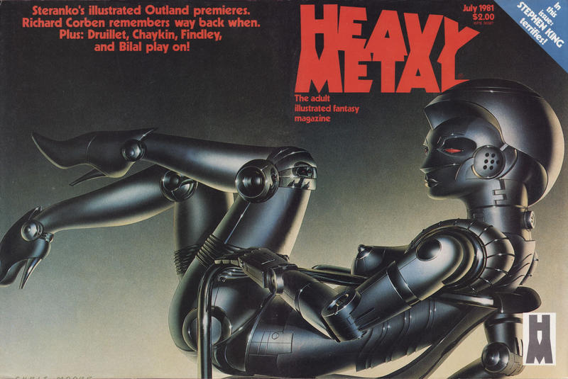 Cover for Heavy Metal Magazine (Heavy Metal, 1977 series) #v5#4 [Newsstand]
