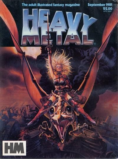 Cover for Heavy Metal Magazine (Heavy Metal, 1977 series) #v5#6 [Direct Sales]