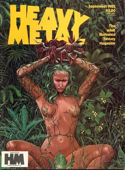 Cover for Heavy Metal Magazine (HM Communications, Inc., 1977 series) #v6#6