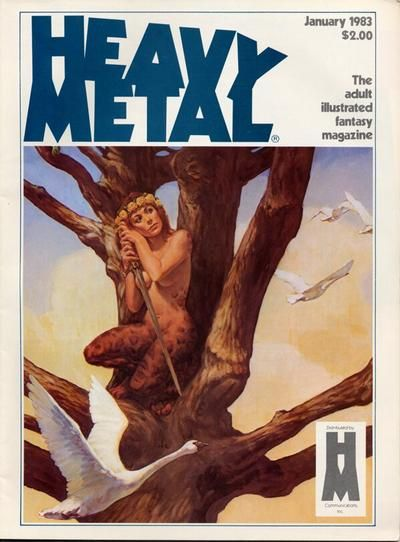 Cover for Heavy Metal Magazine (HM Communications, Inc., 1977 series) #v6#10