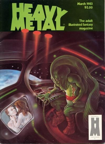Cover for Heavy Metal Magazine (HM Communications, Inc., 1977 series) #v6#12