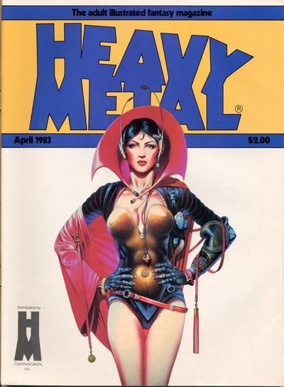 Cover for Heavy Metal Magazine (Heavy Metal, 1977 series) #v7#1
